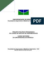 Plano Pedagógico Gestão do Agronegócio UnB