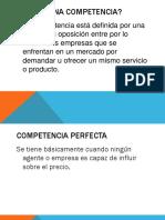 Diferentes Tipos de Competencia en El Mercado