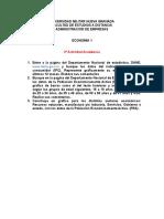 2a Actividad Academica - Economia1 Semestre Dos