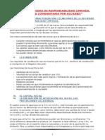 Tema 8 Socedad de Responsabilidad Limitada. Sociedad Comanditaria Por Acciones