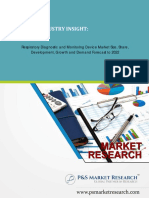 Respiratory Diagnostic and Monitoring Device Market Size, Development and Forecast to 2022
