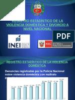 Registro Estadístico de La Violencia Doméstica y Divorcio