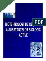Curs 6 - Obtinerea Antibioticelor