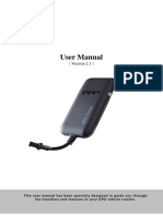GT02A User Manual