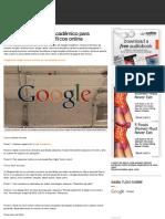 Como usar o Google Acadêmico para encontrar artigos científicos online | Dicas e Tutoriais | TechTud