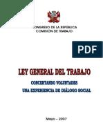 Libro Ley General de Trabajo