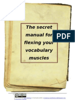 The Secret Manual for Flexing Your Vocabulary Muscles