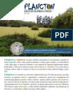 Plancton microcrustaceos y rotiferos Humedales de Bogotá D.C. Colombia, 2017