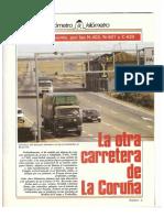 Revista Tráfico - nº 9 - Marzo de 1986. Reportaje Kilómetro y kilómetro