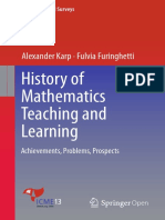 Karp Furinghetti History of Mathematics Teaching and Learning