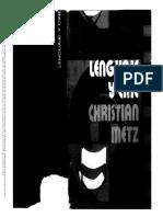 METZ Lenguaje y Cine__cine y Escritura_conclusiones