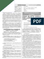 Ordenanza que establece beneficios e incentivos tributarios por actualización Predial a contribuyentes en proceso de Fiscalización en la jurisdicción del distrito de Huaral