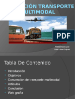 Convenio de Transporte Multimodal