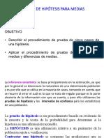 2.2 Prueba de hipótesis media y dif. mediasen los pdf