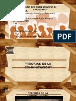 Expocición Teorias Comunicación