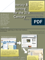 Literacy & learning for the 21st Century