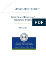 PSERS Audit Report