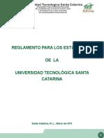UTSC_Reglamento Para Estudiantes