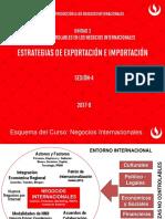 Estrategias de Exportación e Importación 2017-0