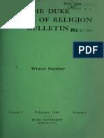Duke School of Religion Feb 1940