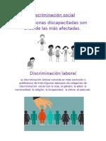 Discriminación Social Fcc