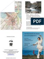 Seminario  Tai Chi Xin Yi Junio 2017