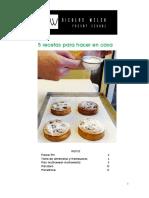 5 Recetas Para Hacer en Casa NW Pastry School