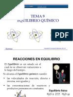 Tema 9_equilibrio Químico