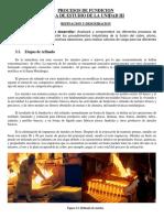Guia de Estudio de La Materia de Procesos de Fundicion Unidad III