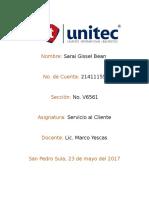 Tarea 6-Cultura Servicio Al Cliente