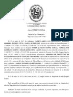 TSJ admite demanda contra el alcalde del Municipio Sucre - 25.05.2017