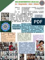 Dia Nacional Da Matematica 2017 - Por que Geometria Sagrada? Profª Mara Sesc Cidadania Goiânia-GO