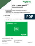 Easergy Studio v7.1.0 - Release Notes v1.0