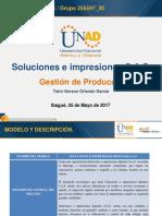 Plantilla de Presentaciones GESTION de PRODUCCION