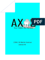 axis business plan