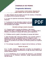 5- Evangelio de Pedro