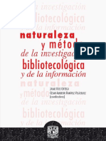 Naturaleza Metodo Investigacion Bibliotecólogica