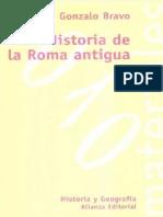 BRAVO, Gonzalo - Historia de La Roma Antigua