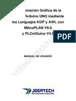 Manual de MikroPLAN Para Arduino