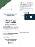 I Stutter Cards