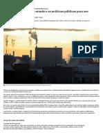 Os Tipos de Cidades Do Mundo e as Políticas Públicas Para Seu Desenvolvimento - Nexo Jornal