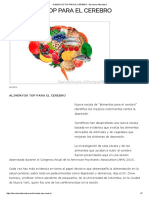 Alimentos Top Para El Cerebro - Barcelona Alternativa