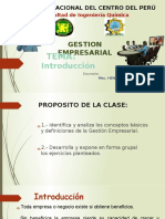 1 Gestion Empresarial Clase 1