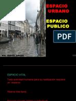 SESION N° 2 ESPACIO URBANO-ESPACIO PUBLICO