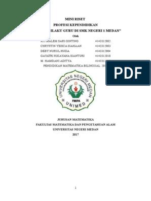 Mini Riset Lengkap Docx