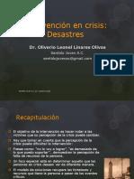 Intervención en Crisis DESASTRES