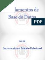 Fundamentos Base de Datos - Parte I