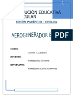 Aerogenerador o Generado eólico