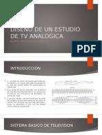 Diseño de Un Estudio de TV Analogico