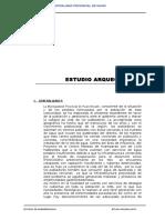 9.8 Estudio Arqueologico Plan de Monitoreo